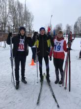 Поздравляем Петерикова Якова с 3-м местом в первенстве ТГУ по лыжным гонкам