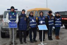 Осмотр сил и средств функциональной и территориальной подсистемы предупреждения и ликвидации ЧС Томской области
