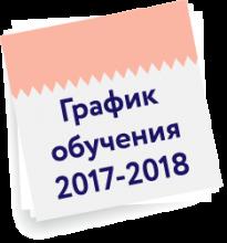 График обучения по программам ИДО ТГУ на 2017-2018 год